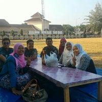 Photo taken at Alun-Alun Cilacap by Tyo P. on 7/17/2015
