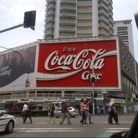 Photo taken at The Coca-Cola Billboard by Virginia G. on 12/7/2012