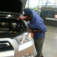 Photo taken at Headquarter Toyota by Rolanda P. on 10/6/2012