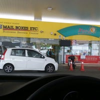 Photo taken at PETRONAS Station by Adrian Z. on 2/20/2014