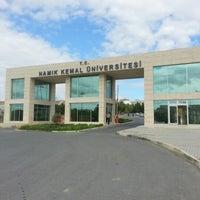 Photo taken at Namık Kemal Üniversitesi by Tuğçe Ö. on 9/21/2012