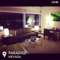Photo taken at Vdara Hotel & Spa by Miranee on 2/18/2013