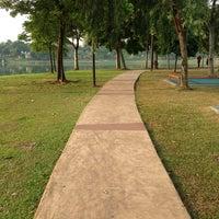 Photo taken at Taman Tasik Ampang Hilir by Terence T. on 6/22/2013