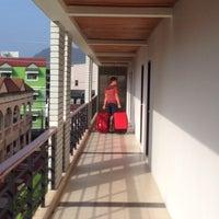 Photo taken at Baramee Resortel Phuket by Svetlana on 6/18/2014