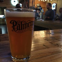 Photo taken at Palmetto Brewing Company by Brion U. on 10/14/2016