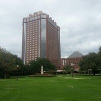 Photo taken at Hilton Anatole by Val M. on 10/25/2012