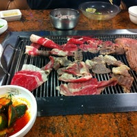 Photo taken at Fresh Korean B.B.Q. by FoodTrucker T. on 2/27/2013