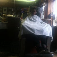 Photo taken at Church Street Barber Shop by James T. on 11/9/2013