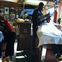 Photo taken at Church Street Barber Shop by James T. on 1/26/2013