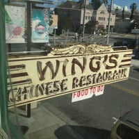 Photo taken at Wing's Chinese Restaurant by Alice on 1/27/2013