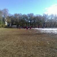 Photo taken at Стадион Дальгау by Vasiliy P. on 10/21/2012