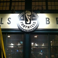 Photo taken at Foothills Brewing by Katie H. on 11/18/2012