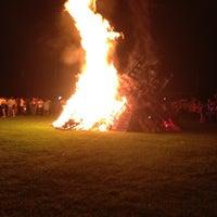 Photo taken at Hamshire-Fannett High School by Mandy on 9/18/2012