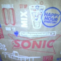 Photo taken at SONIC Drive In by Katie R. on 2/16/2013