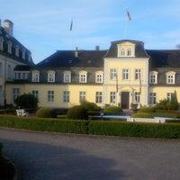 Photo taken at Schlosshotel Groß Plasten by Mac on 10/14/2013