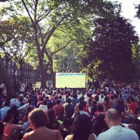 Photo taken at Governors Island by Adriaan P. on 6/22/2014