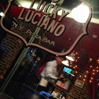 Photo taken at Lucky Luciano by Gerardo on 5/9/2013