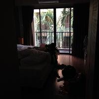 Photo taken at The Cottage Suvarnnabhumi by Sabrina on 11/29/2013