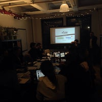 Photo taken at DUMBO Startup Lab by David T. on 2/20/2015
