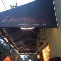 Photo taken at B. Matthews Eatery by James on 7/14/2015