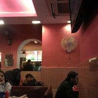 Photo taken at Nizam's Kathi Kabab | निजा़म काठी कबाब by Vimal A. on 1/14/2013