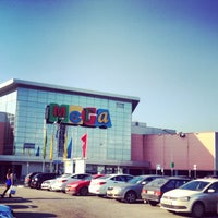 Photo taken at МЕГА Дыбенко / MEGA Mall by Лучик С. on 5/4/2013