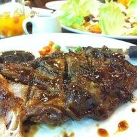 Photo taken at Mooon Café by Yen F. on 10/14/2012