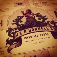 Photo taken at JK O'Donnell's Irish Pub by Tim N. on 1/19/2013