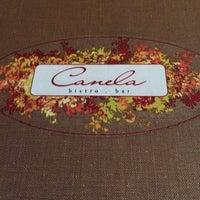 Photo taken at Canela Bistro & Wine Bar by Frank R. on 8/24/2014