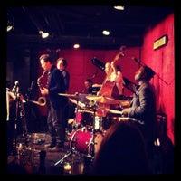 Photo taken at Jazz Standard by Jason S. on 3/28/2013