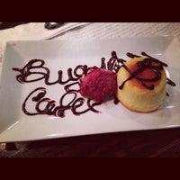 Photo taken at Cafe Bugatti by Nija Mehanovic ADOVIC on 4/27/2013