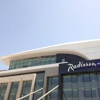 Photo taken at Radisson Blu Hotel, Kuwait by Mohamed A. on 7/22/2013
