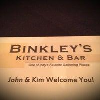 Photo taken at Binkley's Kitchen & Bar by Rebecca D. on 10/20/2012