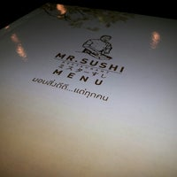 Photo taken at Mr.Sushi by Uhtain P. on 12/8/2013