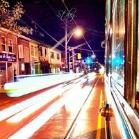 Photo taken at TTC Streetcar #501 Queen by Stilez on 3/11/2013