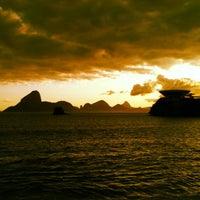 Photo taken at Praia das Flexas by Rodrigo M. on 10/15/2012