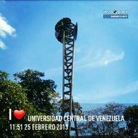 Photo taken at Universidad Central de Venezuela by María Laura C. on 2/25/2013