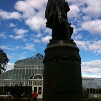 Photo taken at Volunteer Park Conservatory by Jamie on 10/29/2012