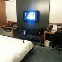 Photo taken at Aloft Dulles Airport North by Josue T. on 10/15/2012