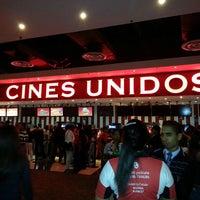 Photo taken at Cines Unidos by Alvaro e. on 7/28/2013