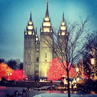 Photo taken at Temple Square by Aubrey on 12/18/2012