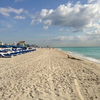 Photo taken at South Beach by Dmitry U. on 3/29/2013