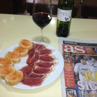 Photo taken at Restaurante Pérez by Santiago Gutiérrez N. on 2/24/2013