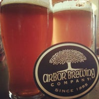 Photo taken at Arbor Brewing Company by Dizzy M. on 4/23/2013