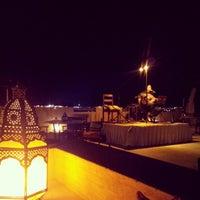 Photo taken at Rooftop Bar Bab Al Shams by Fodi on 11/28/2012