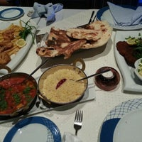Photo taken at Al Sanbok Restaurant by Rawan A. on 3/27/2013
