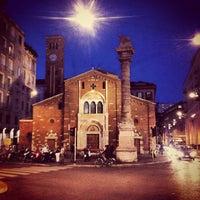 Photo taken at Piazza San Babila by Sash2030 on 9/20/2012