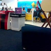 Photo taken at Galeri Indosat by Erni M. on 8/12/2013