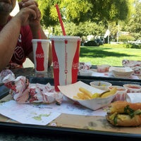 Photo taken at The Habit Burger Grill by Amanda B. on 9/30/2012