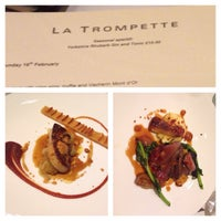 Photo taken at La Trompette by Len K. on 2/16/2014